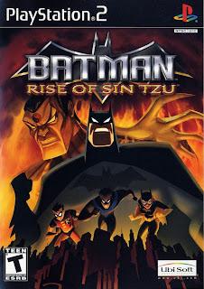 Batman : Rise Of  Sin Tzu PS2