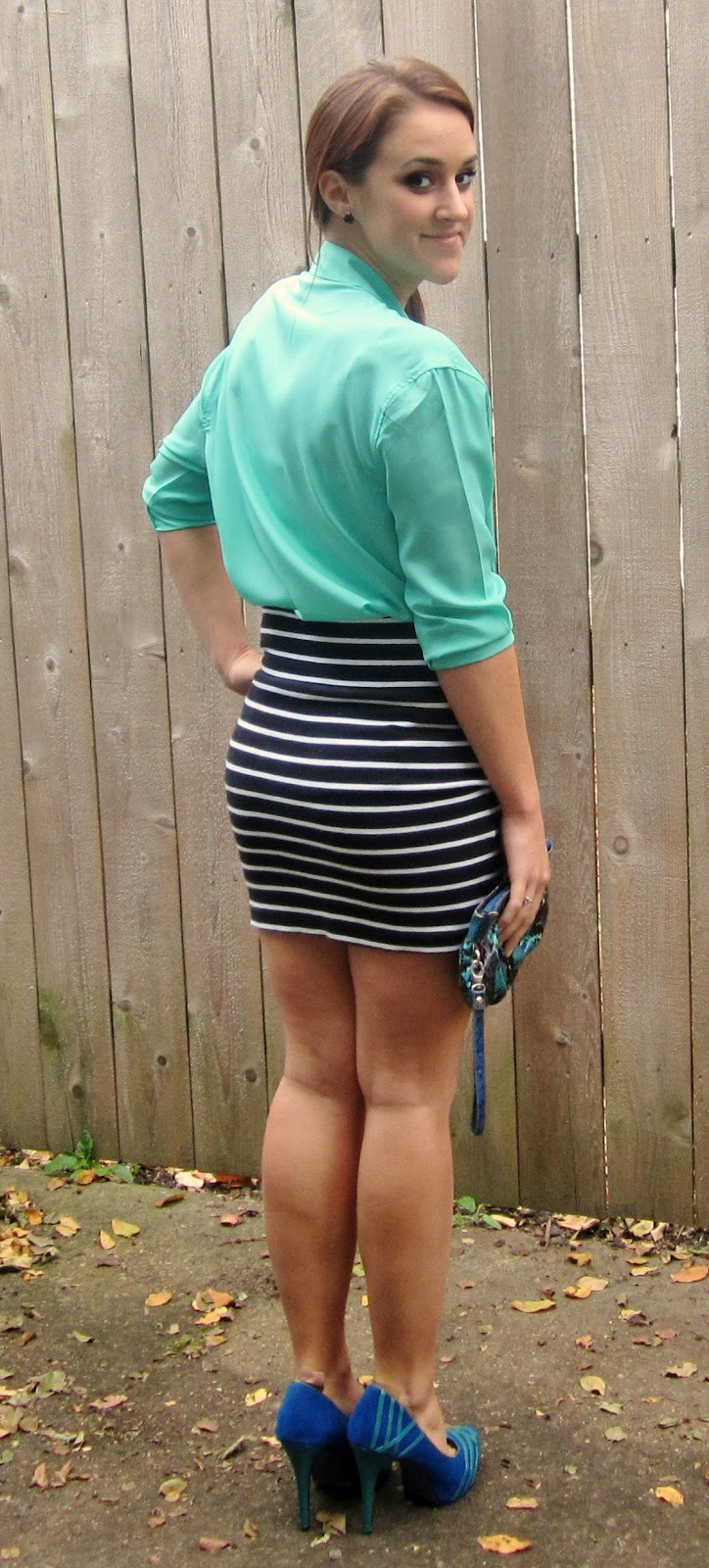 love, elizabethany: pinspired outfits: a skirt kinda weekend