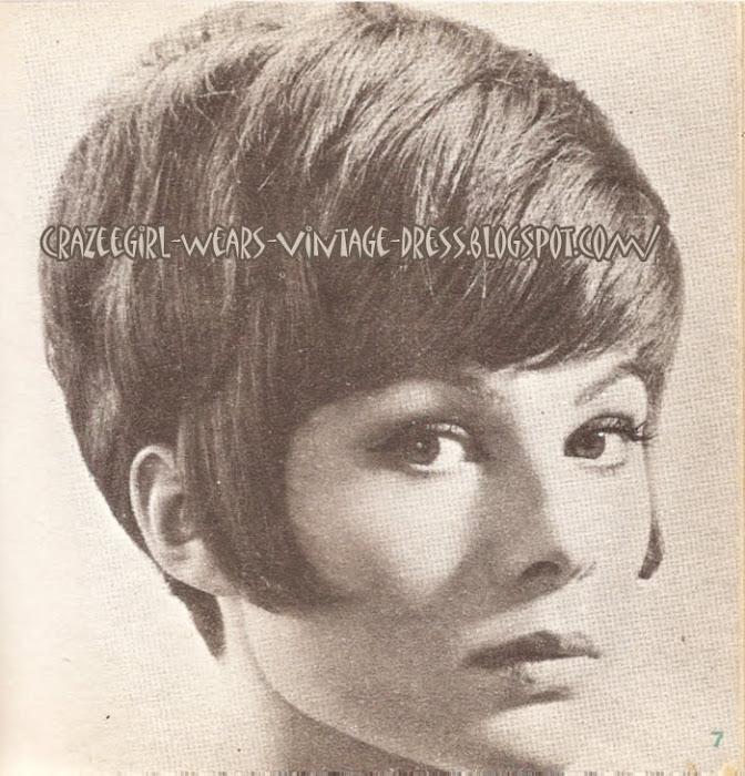 60s Haircut - 1963 1960 hairstyle mod hairdo