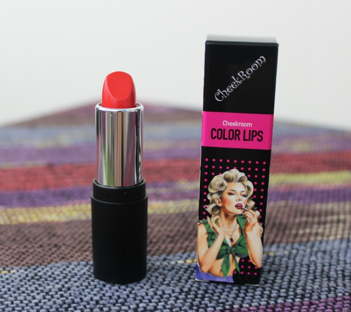 Cheek Room Color Lips - 03 Red Memebox Superbox #49: All About Lips