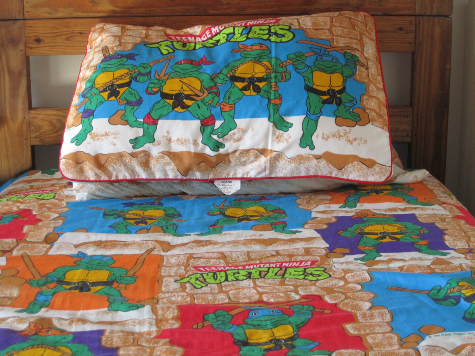 The Sewer Den Issue Goodnight Turtle JPG 1600x1200 Ninja Bed Set