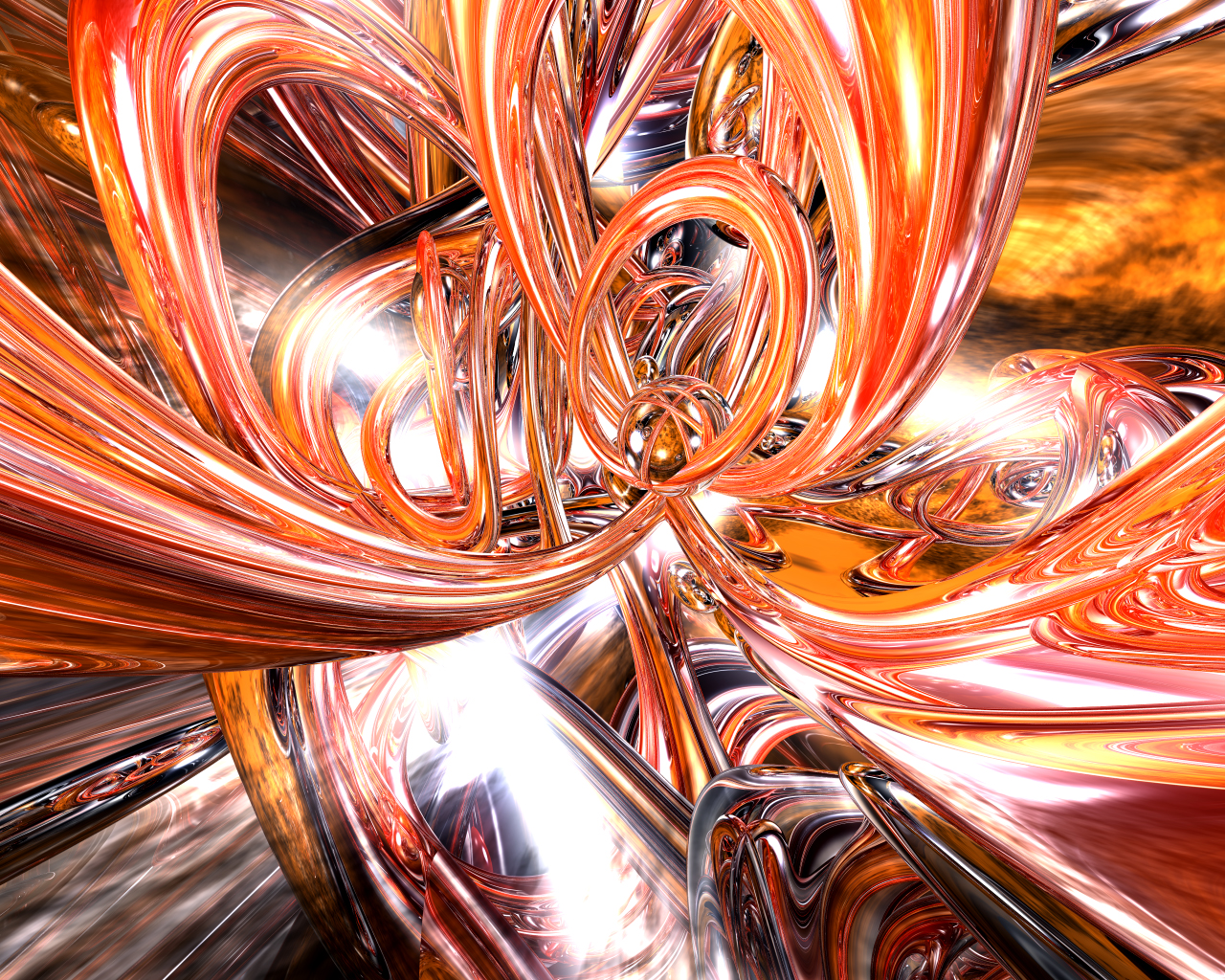 3D Abstract Desktop Wallpapers