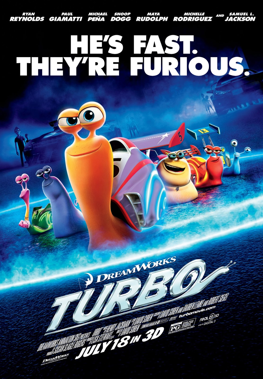 turbo movie review. Black Bedroom Furniture Sets. Home Design Ideas
