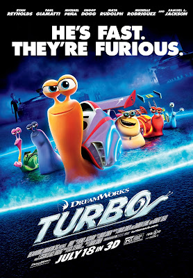 Turbo 2013 animated film large movie poster malaysia