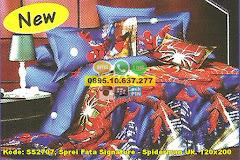 Harga Sprei Fata Signature – Spiderman Uk. 120×200 Jual