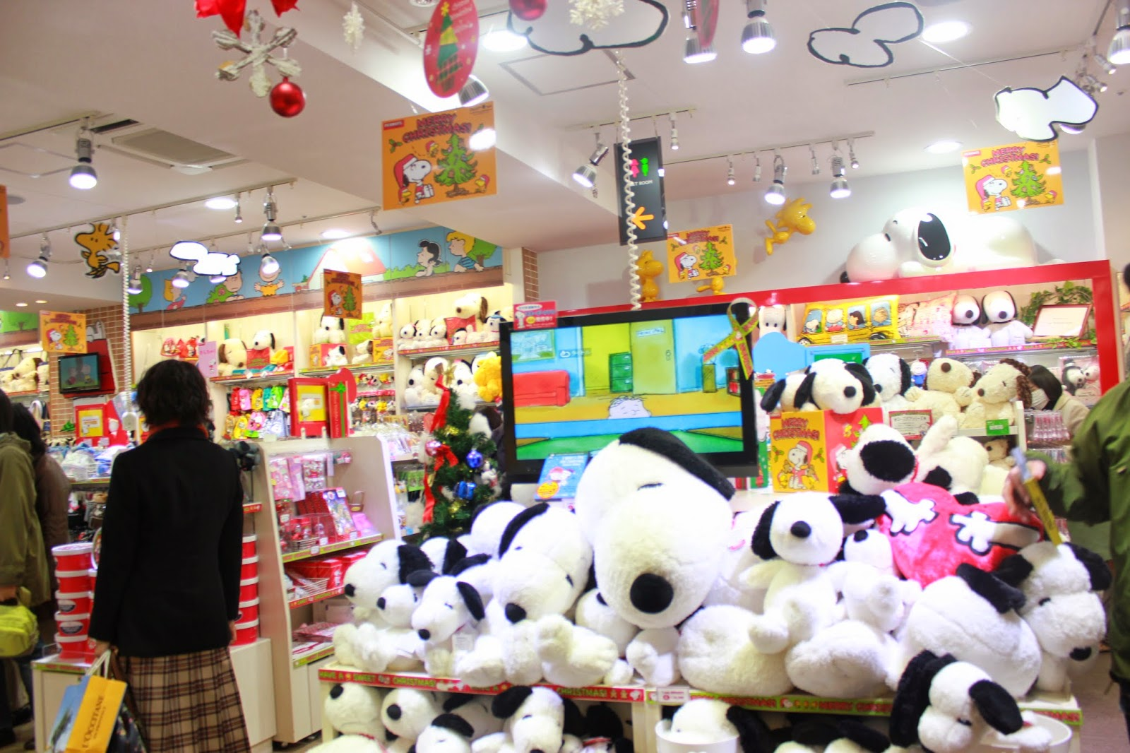 Snoopy Plushie in Kiddy Land