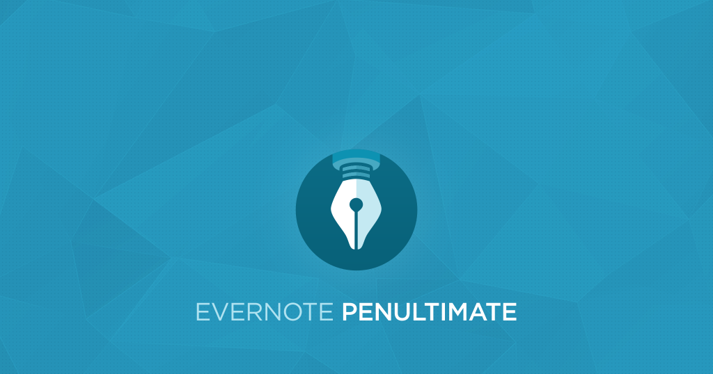 Penultimate 6.0 這次才稱得上 Evernote 專用手寫筆記