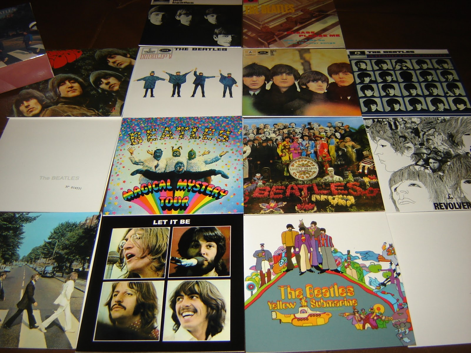 Dr Ebbetts Beatles Mini Lp Box Set Parlophone Mono Stereo