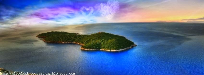 Couverture Facebook Iles Paradisiaques  8