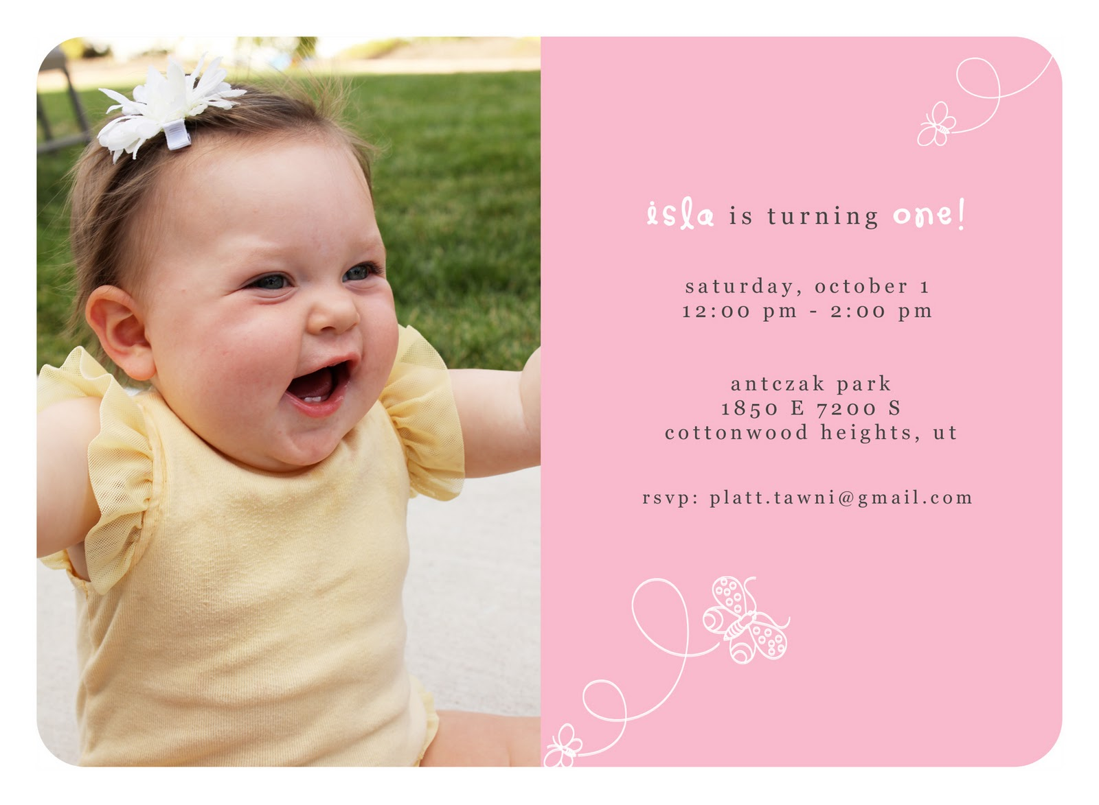 First Birthday Invitations - jeppefm.tk