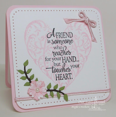 ODBD Custom Lovely Leaves Dies, ODBD Custom Birds and Nest Dies, ODBD Bless Your Heart, ODBD Quote Collection 4, Card Designer Angie Crockett
