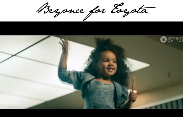 Beyonce Toyota Car Ad