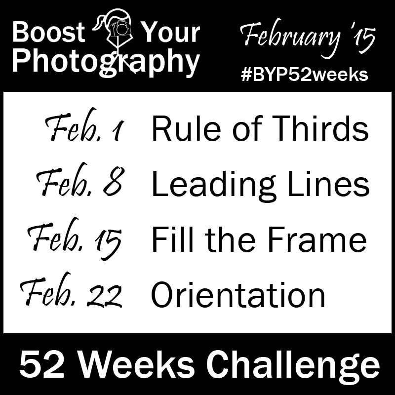#BYP52weeks: Join the 52 Weeks Challenge on Boost Your Photography