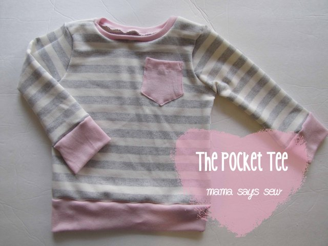 pocket tee tutorial