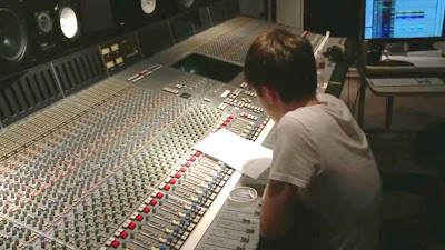 "Greyson Chance in the studio working on ""Truth Be Told"" Video"