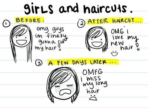 Girls And Haircuts