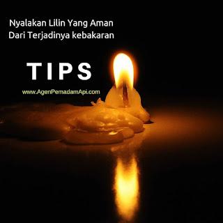 Tips Nyalakan Lilin Yang Aman Dari Terjadinya kebakaran