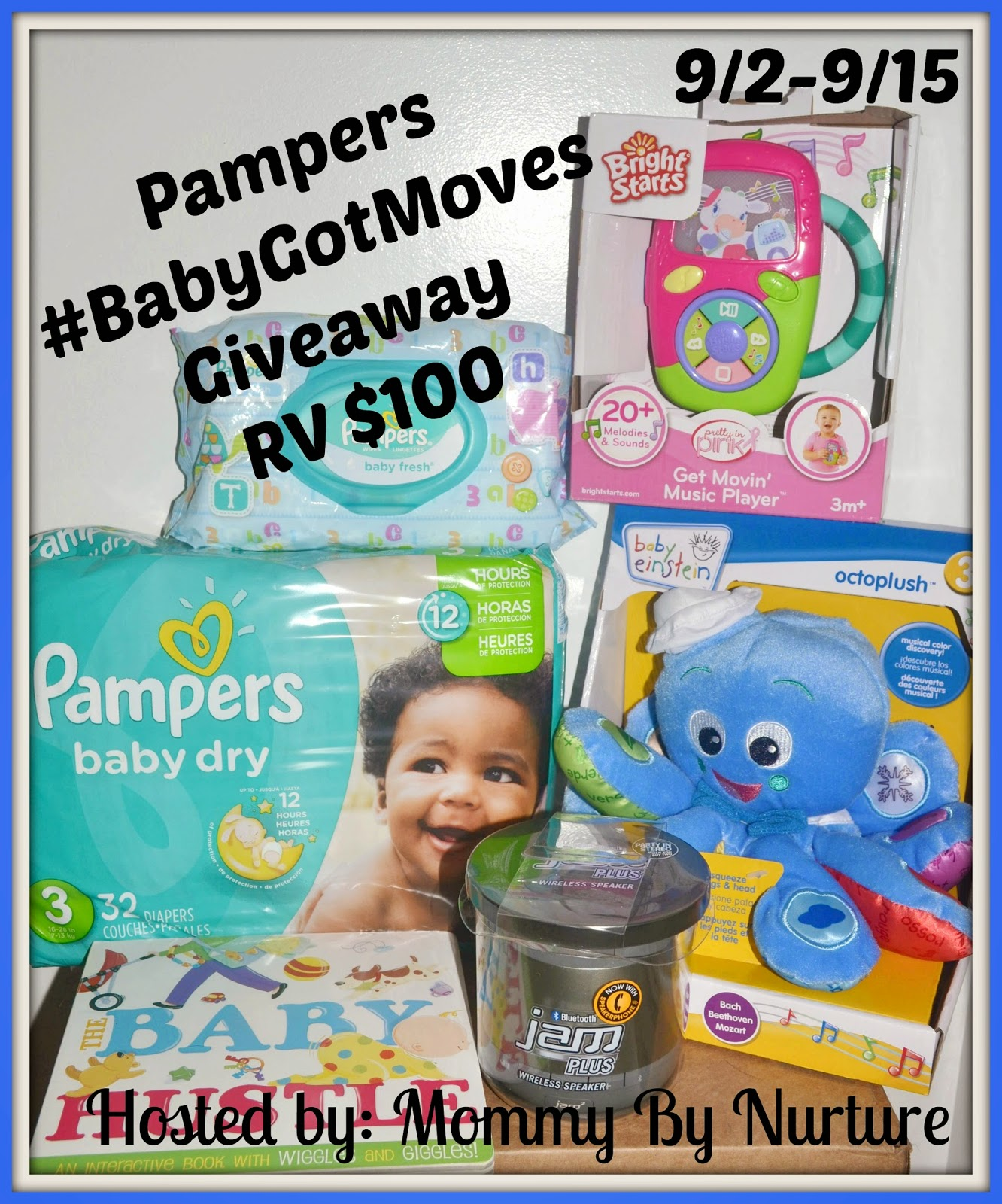 Pampers $100 Giveaway