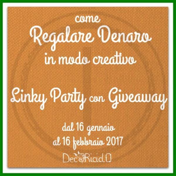 Interessante Linky party con giveaway di Daniela