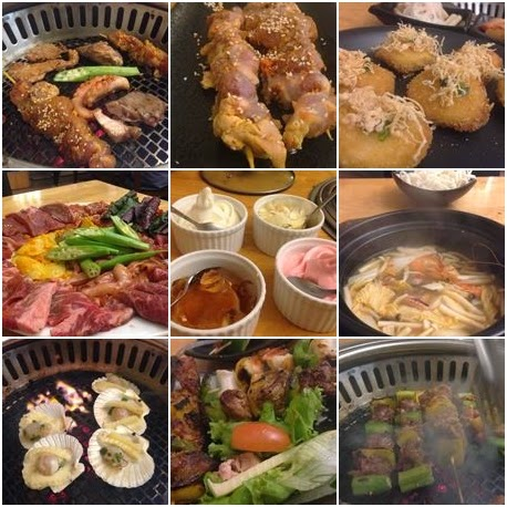 Delicious dishes in Hana Buffet and Hot Pot Buffet