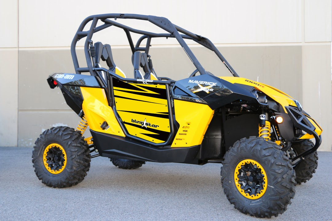 Can-Am Maverick Door Graphics