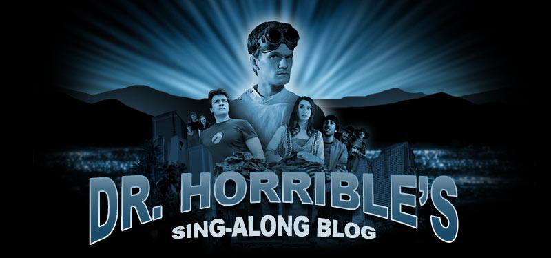 [Web Série] Dr. Horrible  Title