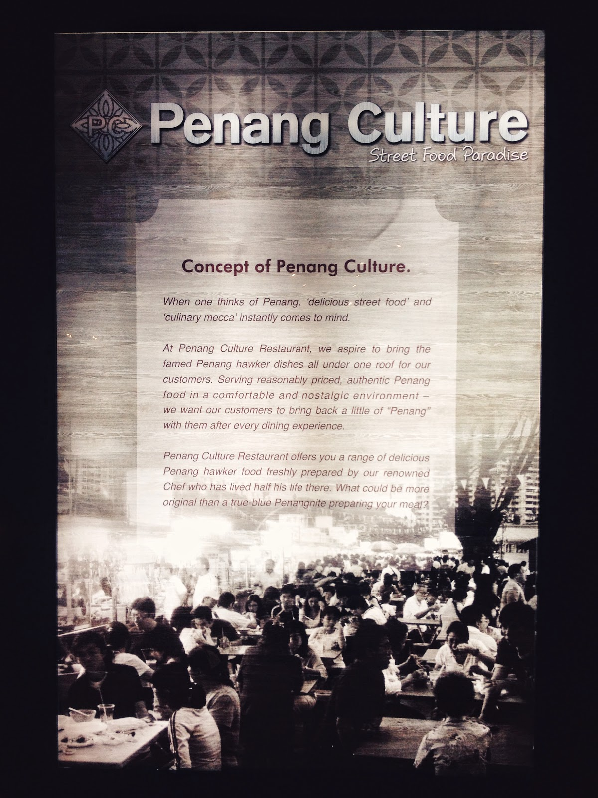 Penang Culture @ Changi Airport, Singapore