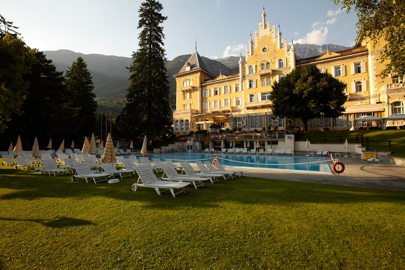 Grand Hotel Billia, come ai tempi della Belle Epoque!