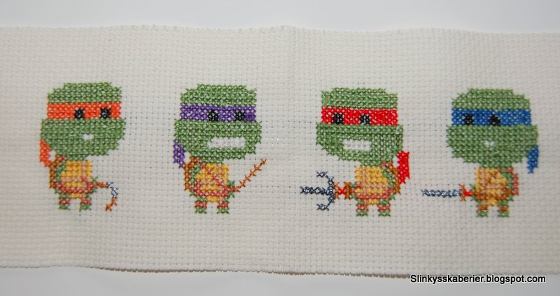 broderede ninja turtles