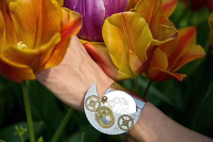 bracciale ingranaggi orologi
