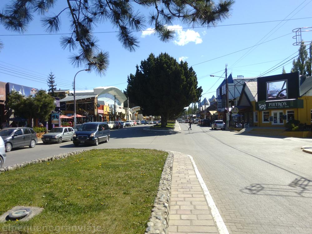 Av. San Martín, Calafate
