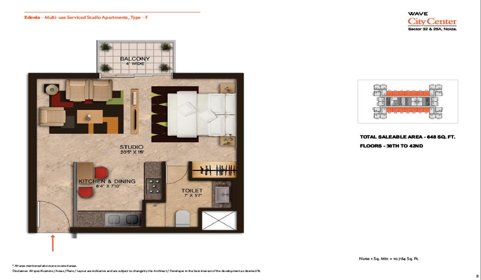 Wave Edenia Floor Plans 6