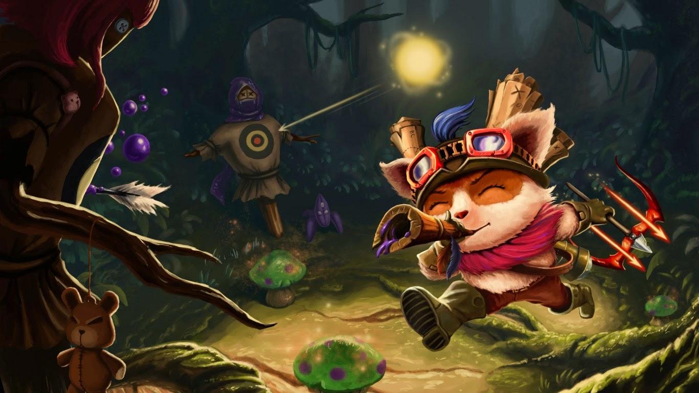 League Of Legends Wallpaper Teemo Panda