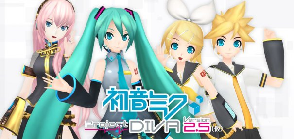 Rin and nana anim pict kingdom vocaloid project diva - Kagamine rin project diva ...