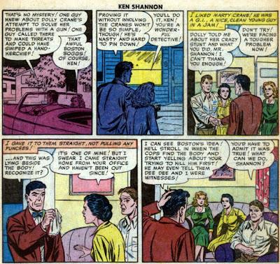 Ken Shannon 10, story 2, panels