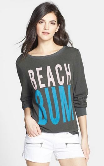 Wildfox 'Beach Bum' Pullover