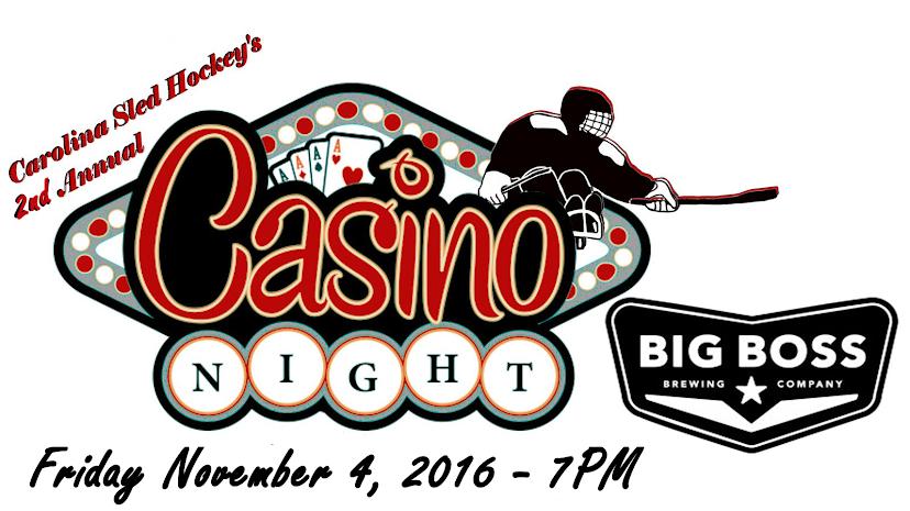 Carolina Sled Hockey Casino Night