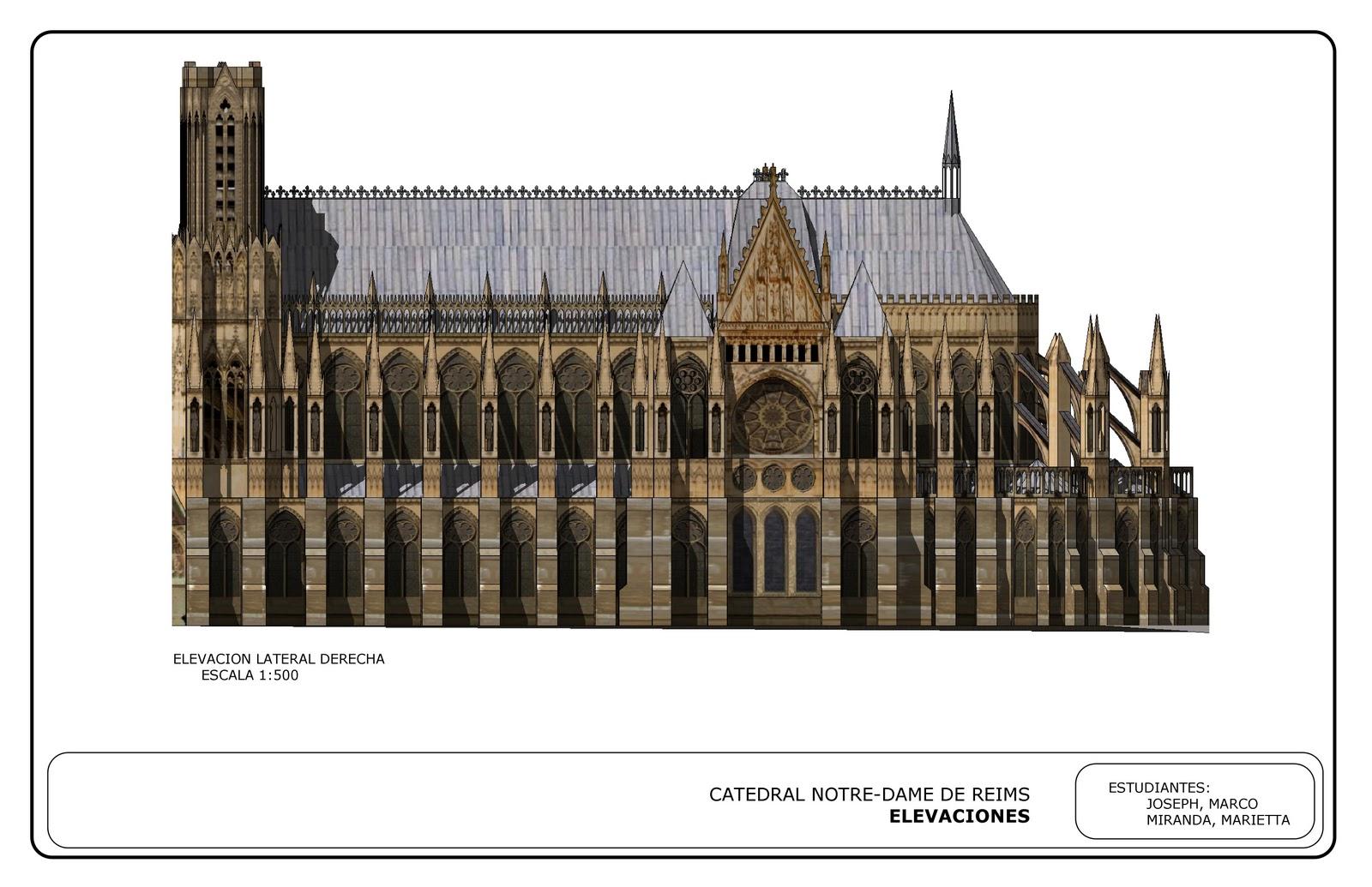 Historia de la arquitectura i up marco joseph catedral for Inicios de la arquitectura