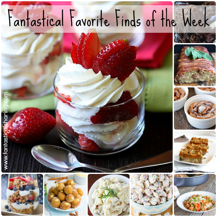 Fantastical Favorite Food Finds of the Week | Check out my top ten favorite recipes from my favorite food blogs! #favorite #collection #collage #recipe #topten