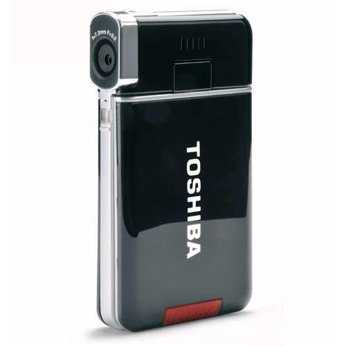 Toshiba Camileo S20 Full-HD Camcorder Bundle - Silver/Black