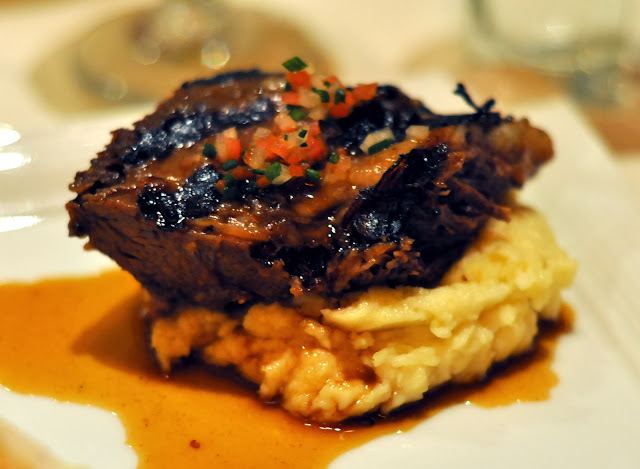 Braised Beef Short Rib with Natural Braising Sauce - Roy's Restaurant - Las Vegas, NV | Taste As You Go