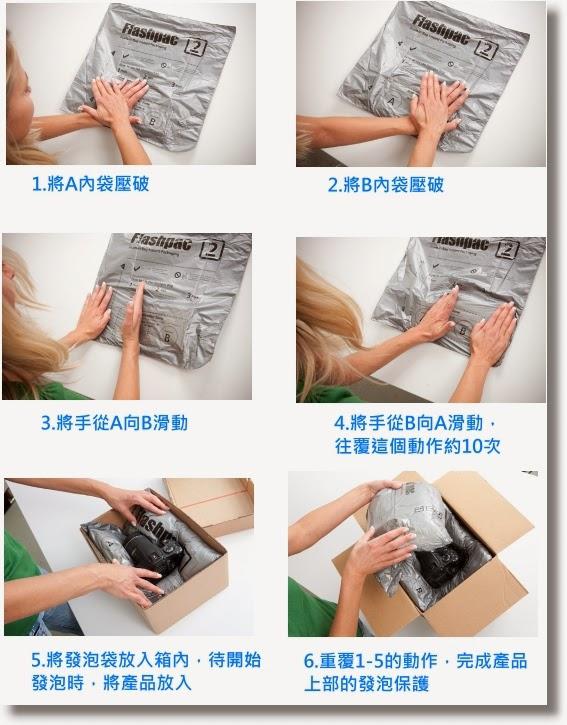 手動pu發泡包裝方式