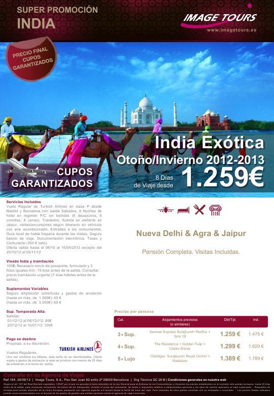 Image tours india ex tica con cupos oto o invierno 2012 2013 - India exotica ...