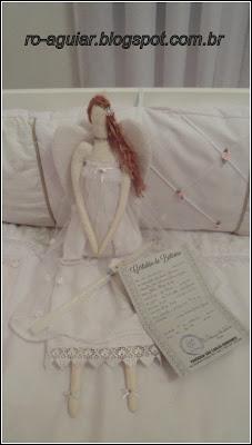 Decoração batizado - Anjos e Tildas