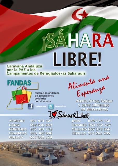 CARAVANA POR LA PAZ DEL PUEBLO SAHARAUI