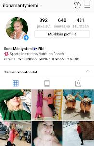 Minut löytää myös Instagramista! :) :)