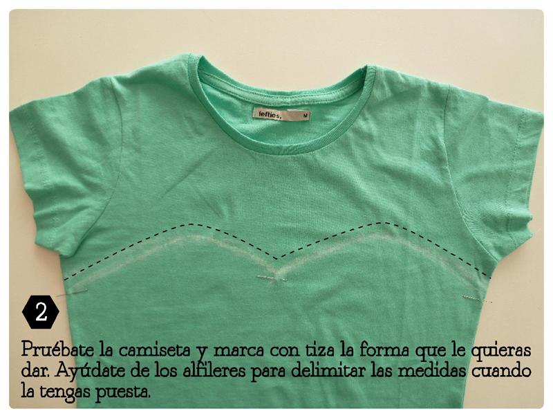 Con una plantilla puedes hacer el dibujo que quieras - Decorar camisetas basicas ...