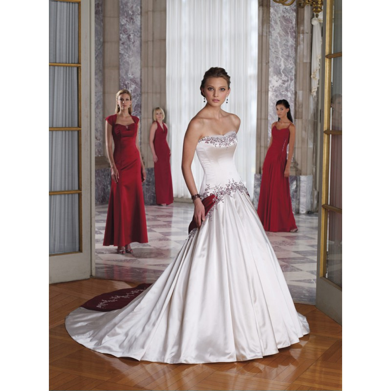 She Fashion Club Red And White Wedding Dresses