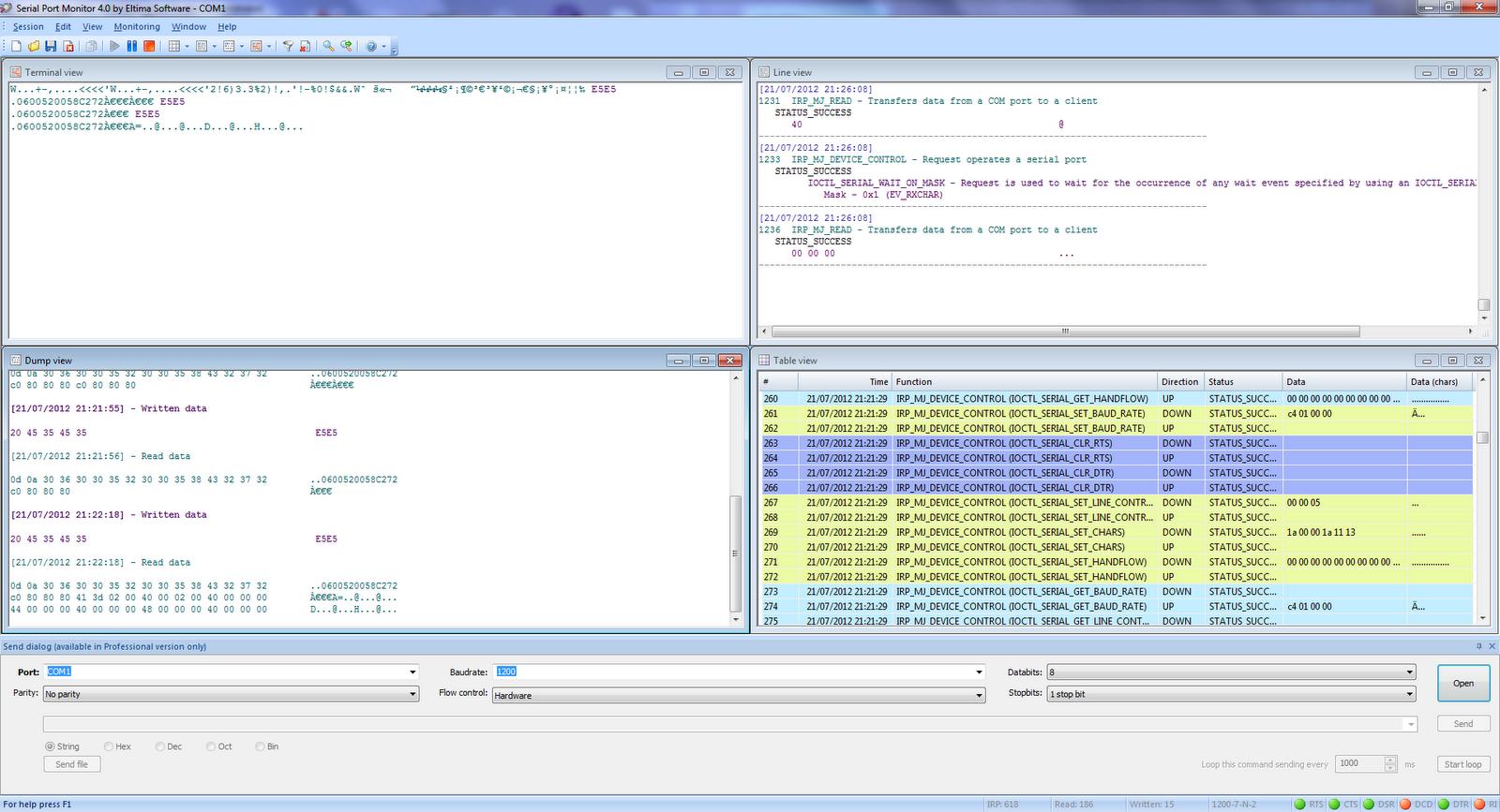 Eltima serial port monitor - Serial port monitor ...
