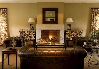 Como elegir la chimenea perfecta fincas y casas de campo - Chimeneas para salon ...